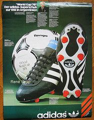 Adidas World Cup 1978 football boot