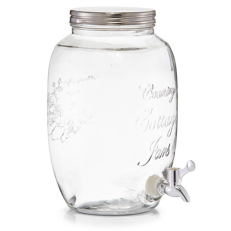 """Zeller Getränkespender """"Countrystyle"""", 5 ltr., Glas/Edelst kaufen"""