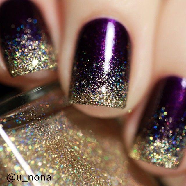 Beautiful Photo Nail Art: 51 Gold Nail Art Designs