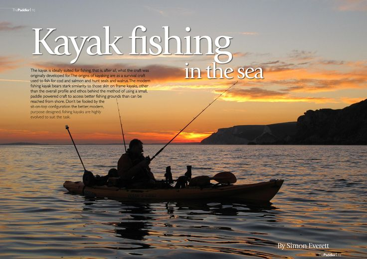 20 best kayak fishing adventures images on pinterest for Sea fishing kayak