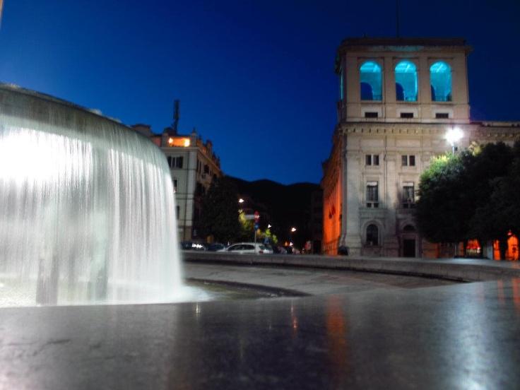 La fontana di Piazza Tacito #Terni
