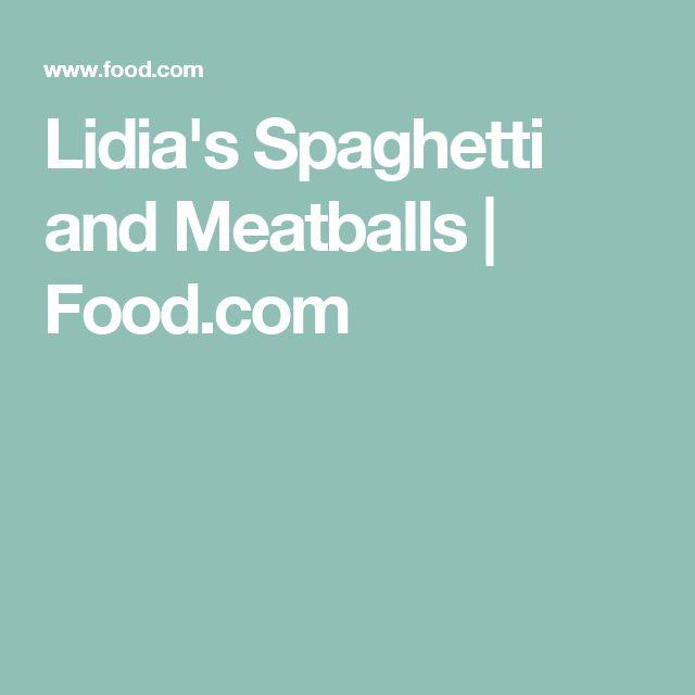 Lidia S Kitchen Meatball Recipe
