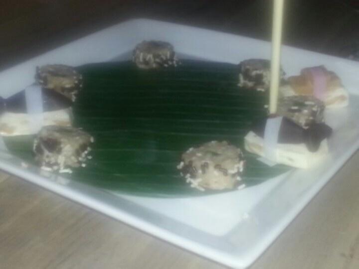 Tien gangen diner sushi