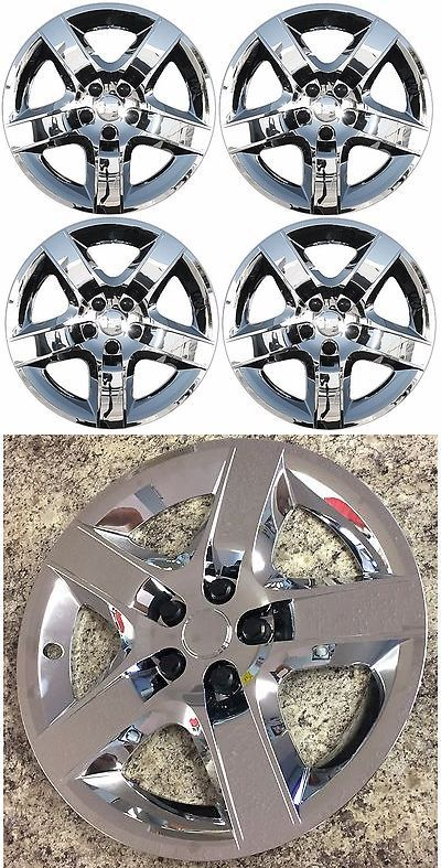 auto parts - general: New 2008-2012 Chevy Malibu 17 5-Spoke Chrome Hubcap Wheelcover Set Of 4 -> BUY IT NOW ONLY: $64.95 on eBay!