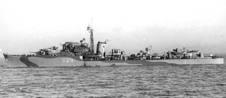 HMS Offa (G29) is a O-class destroyer of the British Royal Navy which entered service in 1941. (google.image)