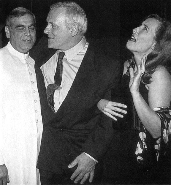 Remains of the Day - 1993 Premiere - Ismail Merchant, Anthony Hopkins, Emma Thompson