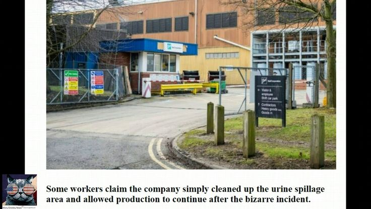 London: Coca-Cola factory worker sacked after being spotted URINATING in...