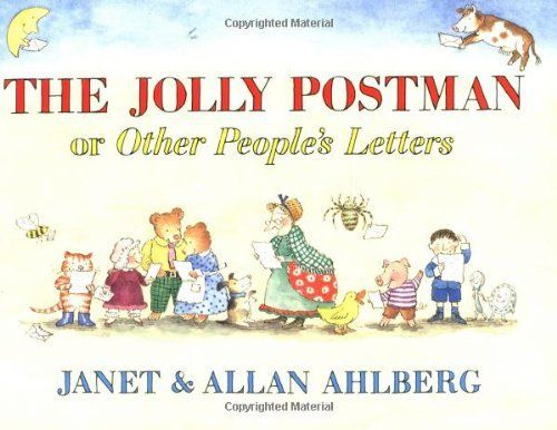 The Jolly Postman by Allan Ahlberg, http://www.amazon.com/dp/0316126446/ref=cm_sw_r_pi_dp_qa2csb0VC1KK6
