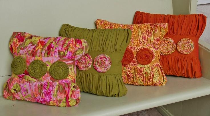 pillows: Feminine Pillows