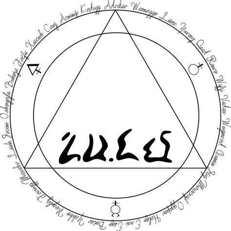 Risultato immagine per transmutation circle symbols