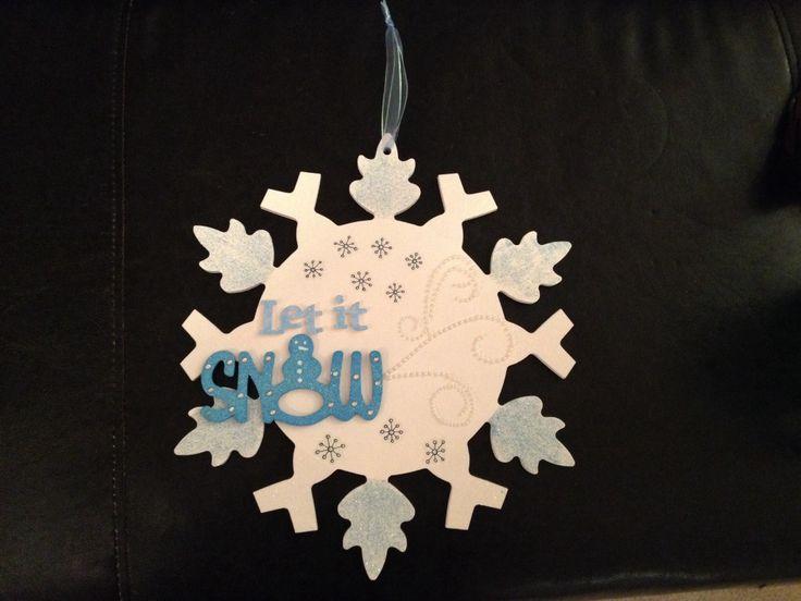 "Snowflake ""let it snow"""