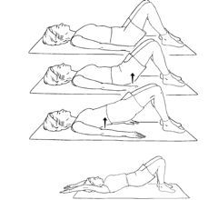 nice Postpartum Exercises for the C Section Mama |