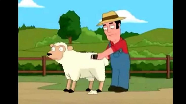 La oveja amariconada de PADRE DE FAMILIA (Buenísimo!!)