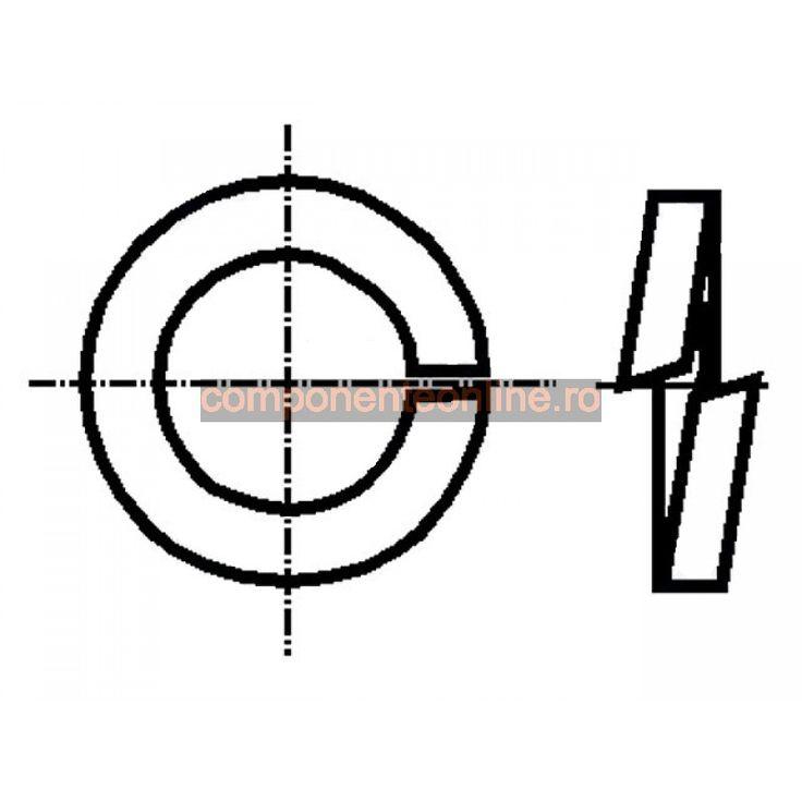 Saiba elastica, 3,1x6,2mm, otel inoxidabil A2, Bossard - 007244