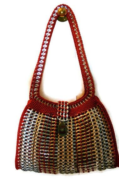Cool pop tab purses