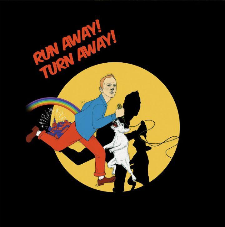 """Run away turn away"" (smalltown boy) by GraceKilling. Jimmy Somerville (Bronski Beat) as comic famous character, Tintin. Pencil Illustration by GraceKilling. https://www.facebook.com/GraceKilling/"