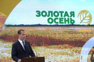 Россия собрала 112 миллионов тонн зерна в 2016 году  Медведев - Аргументы и факты