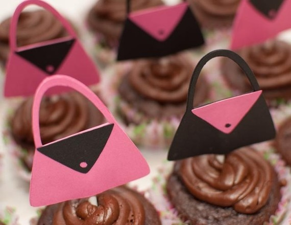 Purse Cupcake Toppers Set Of 12 By DevinPrather On Etsy, $6.00