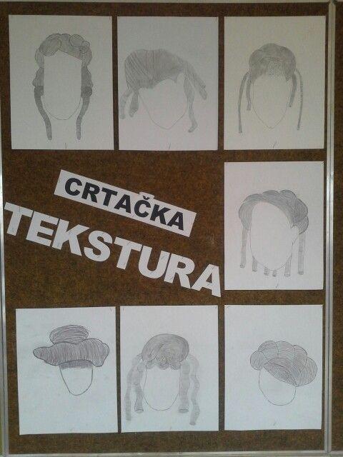 3.razred, crtacka tekstura