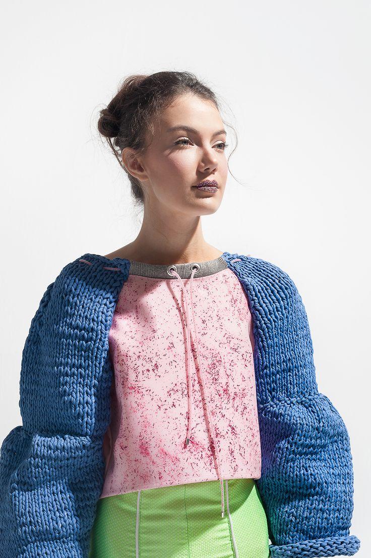 Effervescence Collection.  Designer: Merce Sauqué Photo: Elisa Pullara Art director: Mireia Franco Model: Laura Esti (Blow models) Makeup: Laura Edo