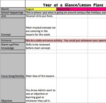 Search results for lesson plan calendar 2015 for Week at a glance lesson plan template