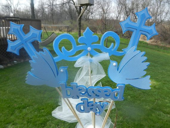 Best christening table decorations ideas on pinterest