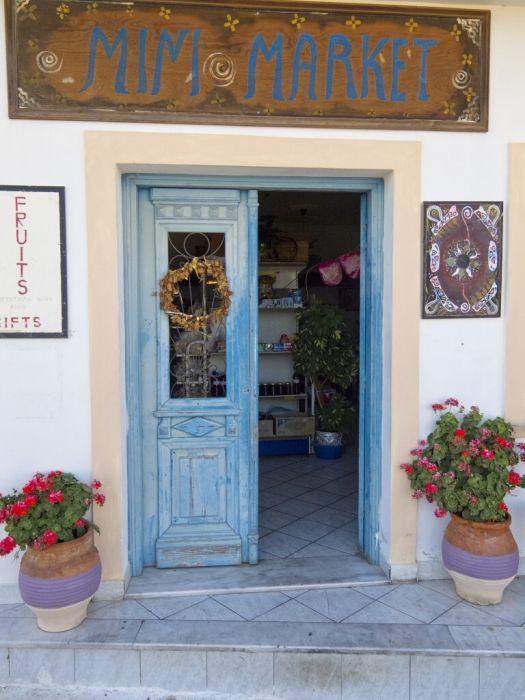 Pantopoleion in Othos, Karpathos Island, Greece