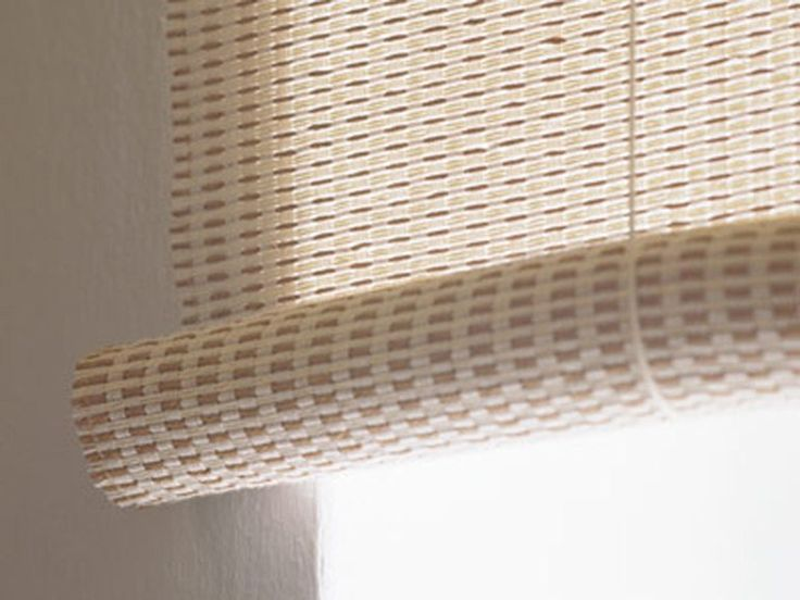 Sheer paper yarn roller blind CLASSIC ROLLER BLIND by Woodnotes
