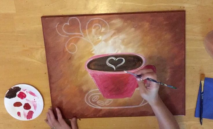 valentines day archives step by step painting - 736×448