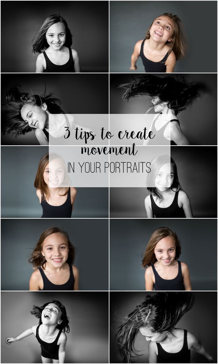 3 Tips to Create Movement in Your Portraits | Marcie Reif Atlanta Photographer Are you looking to add more movement to your portraits or headshots. I have