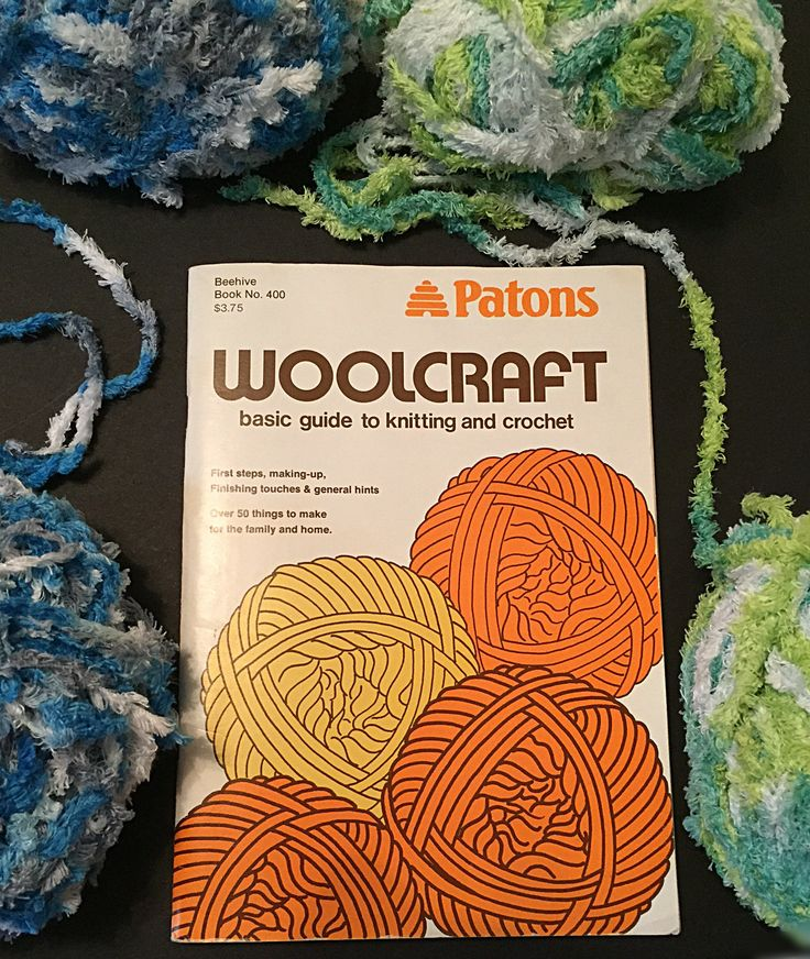 Vintage: Patons Beehive Book No. 400, Woolcraft Basic Guide to Knitting & Crochet, First Steps, Making-up, Finishing Touches, General Hints by ABlueHerronCreation on Etsy