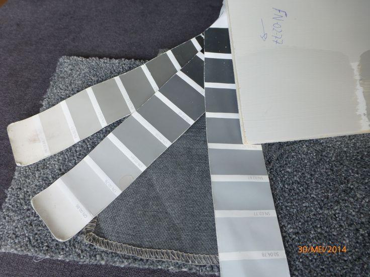 17 beste idee n over grijs interieur verf op pinterest grijze verfkleuren muurverf kleuren en - Badkamer verf grijs ...