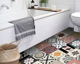 die besten 25 fliesenaufkleber grau ideen auf pinterest. Black Bedroom Furniture Sets. Home Design Ideas