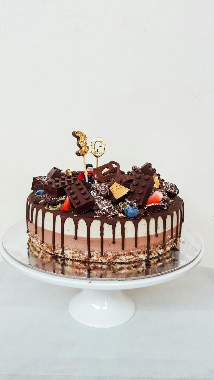 Vegan Superman Cake #fromthewild #adelaidecakemaker #vegan #glutenfree #refinedsugarfree  www.fromthewild.com.au