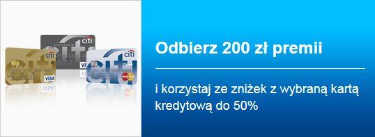 Odbierz 200 zł premii karta kredytowa citi bank http://m2m.kredyty-ubezpieczenia.eu/citibank/