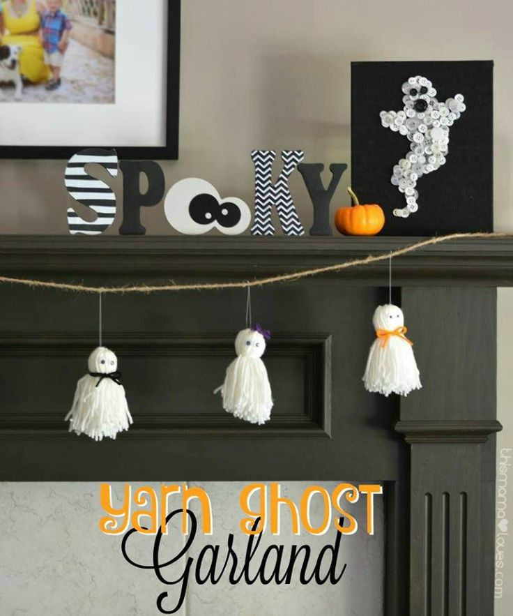 475 best Halloween Crafts  Decor images on Pinterest Halloween - cute halloween diy decorations