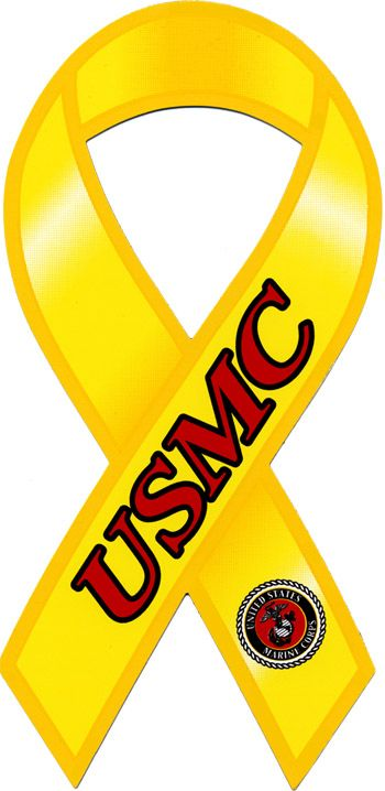 USMC Ribbon Magnet for your Car or Truck at the EGA Shop