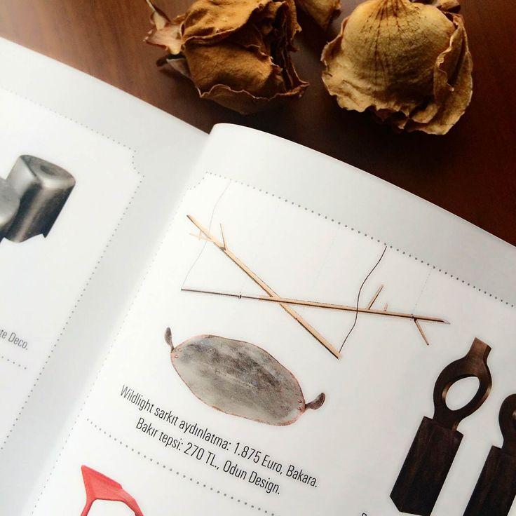 "ODUN design ""Copper Tray"" Maison Française Magazine, January… www.odundesign.com #archivegalata #odundesign"