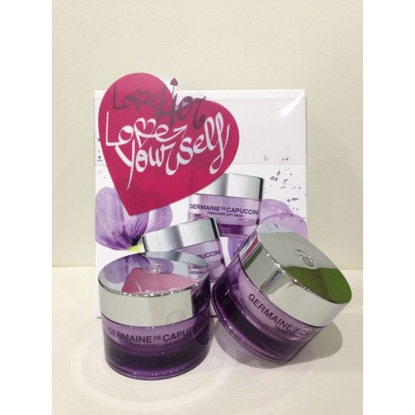 Pack San Valentin de Germaine de Capuccini que contiene: Crema TimeXpert Lift y Crema Timexpert Lift Neck #germainedecapuccini #crema #regalo