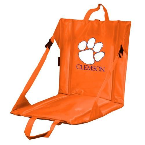 Clemson University Tigers Stadium Seat With Back
