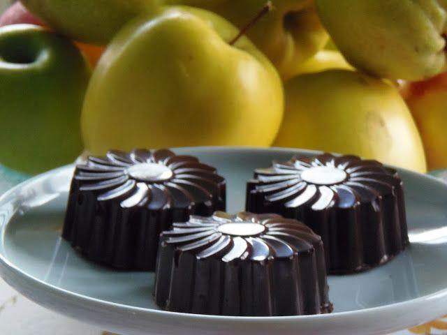 Csokoládéburokba zárt gesztenyemousse