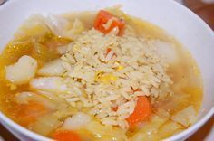 Caldo de Pollo (Chicken Soup) - Newlyweds