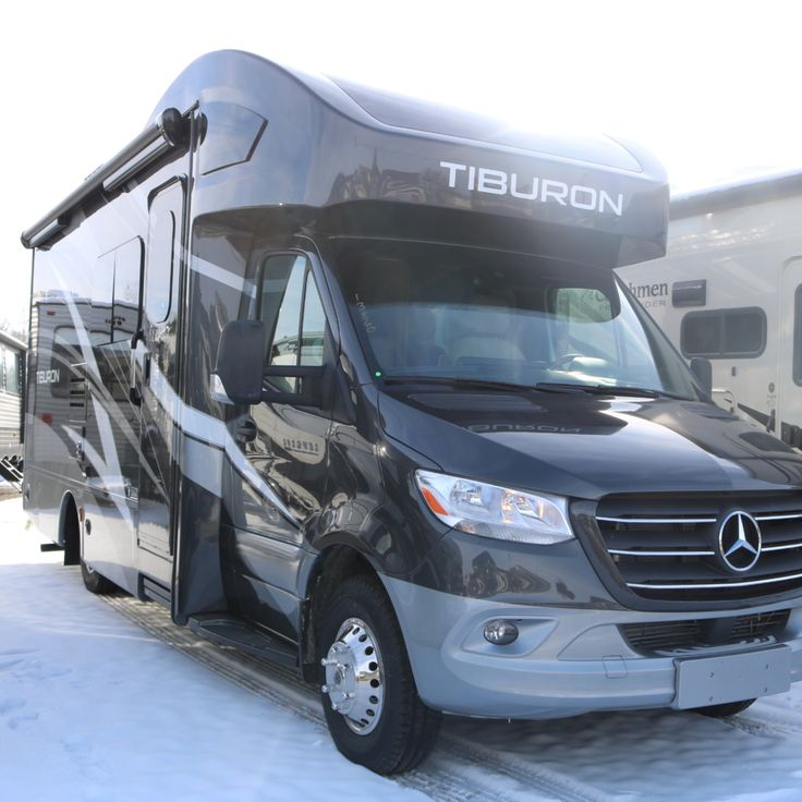 Check out this slick class c diesel motorhome from thor