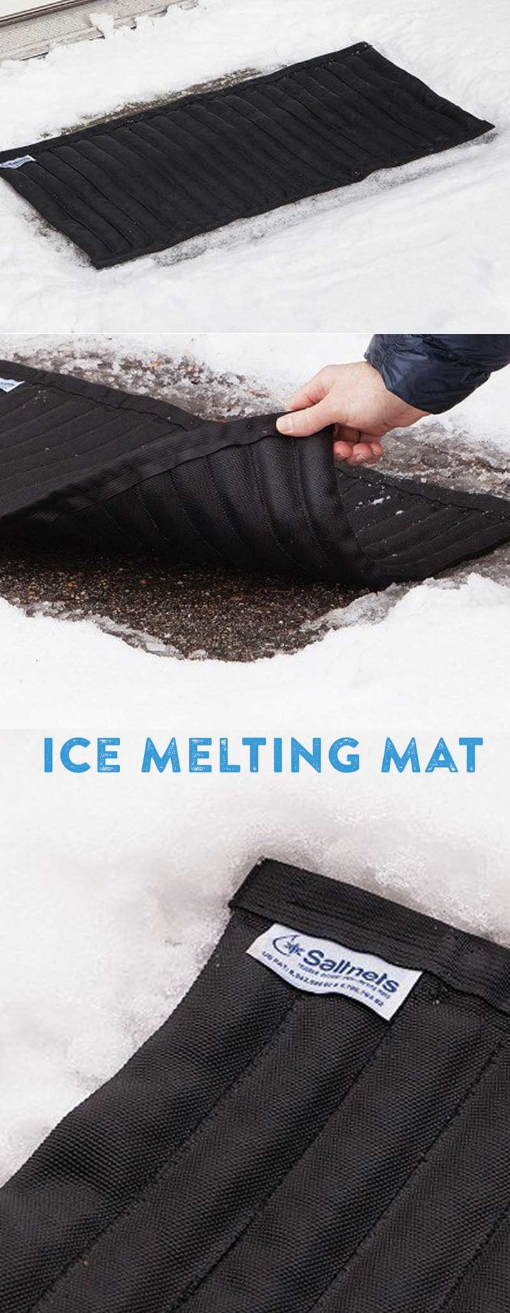 20 Best Emergency Essentials Images On Pinterest Electrical Rough In Wiring Of Earthship Tire Walls Pictures To Pin These Mats Work Just Like Rock Salt Because Thats What Is Inside But