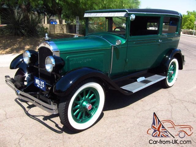 1928 Willys Knight Model 56 Touring Coupe-No Exspense Spared, Show ...