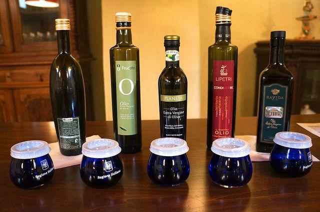 At Planeta, Ulmo, the Extra Vergine Olive Oil Tasting   Flickr - #westsicilywine