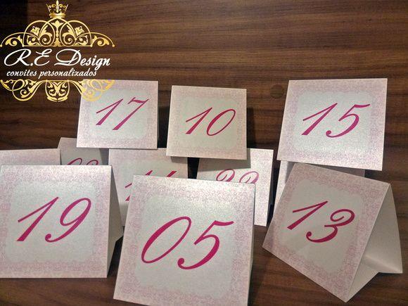 """Que tal tudo personalizado?  R$ 4,50 cada Convite *(comprando a partir de 100 unidades ) R$ 5,00 cada Menu R$ 5,00 cada Reservado R$ 3,00 cada Marcadores de Mesa com números R$ 0,50 cada """"Cartãozinho 5,5x3,5cms"""" o Texto pode ser para """"Lista de Presentes/Individual/Cotas nupciais/Agradecimento...o que você imaginar e o papel aderir!  :: Todos os convites acompanham; :: Tag com o nome do convidado, :: Fita/Laço e Strass, :: São embalados individualmente com saquinhos transparente.  Nós ..."""