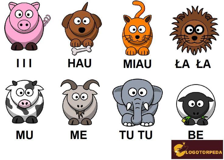 Zwierzątka, zwierzątka i ... rozwój mowy Malucha | Logotorpeda