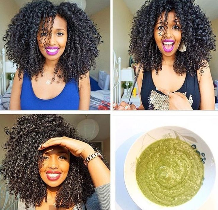 Hair Mask.  1 avocado 1 banana & 1 tsp of: Coconut Oil, Mayonnaise, Castor Oil, Water