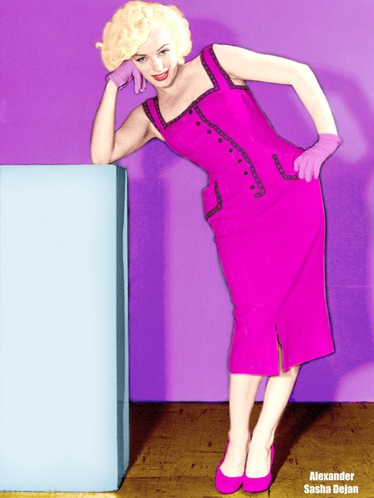 Perfecto Vestidos De Fiesta Marilyn Monroe Inspiración - Vestido de ...